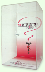 SQlab Vitrine Wings for Life